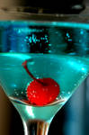 Still Life: Blue Martini II