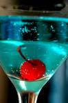 Still Life: Blue Martini II