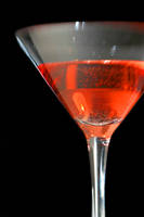 Red Martini I by LDFranklin