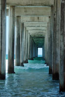 Scripps Pier XI by LDFranklin