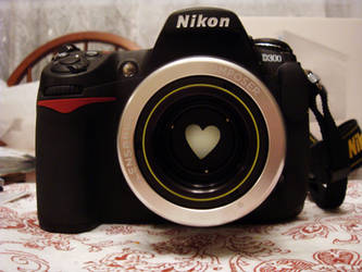 Heart D300 by LDFranklin