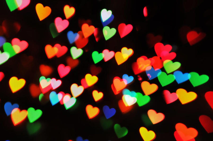 Bokeh Heart Shape Of Light Background Stock Footage Video: Heart Bokeh Texture 4 By LDFranklin On DeviantArt