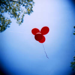 Holga 2 3 Balloons by LDFranklin