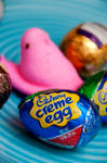 Peeps And Eggs I by LDFranklin
