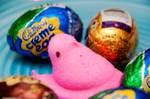 Peeps And Eggs II by LDFranklin