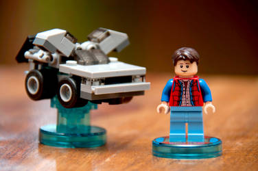 Back To The Future Lego Dimensions by LDFranklin