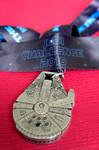 Jedi Challenge Medal I by LDFranklin