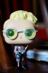 Holtzmann Funko Pop by LDFranklin