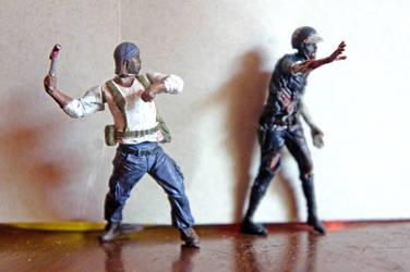 Walking Dead Miniatures by LDFranklin