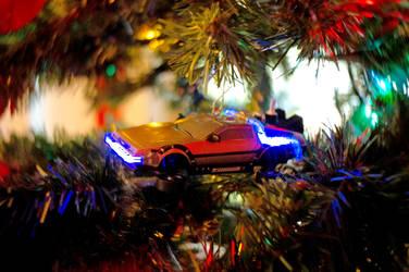 Tree Ornaments Trio IX by LDFranklin