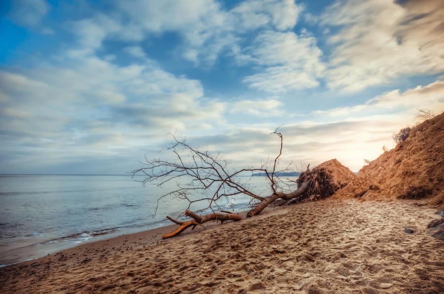 Beach of Sellin by stg123