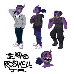 Jeriko ''Roswell Jr.'' Ross Wellington