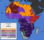Racial Map of Africa