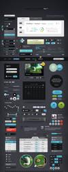 Futurico UI Pro Advanced User Interface Elements by vladimirkudinov