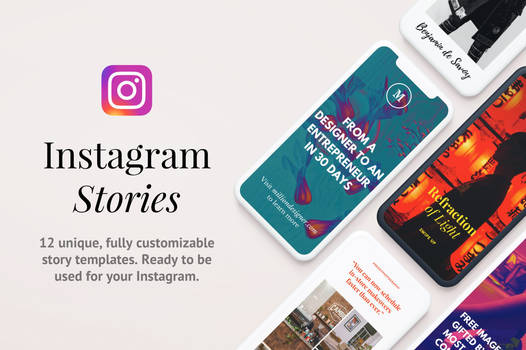 Instagram Template PSD Collection