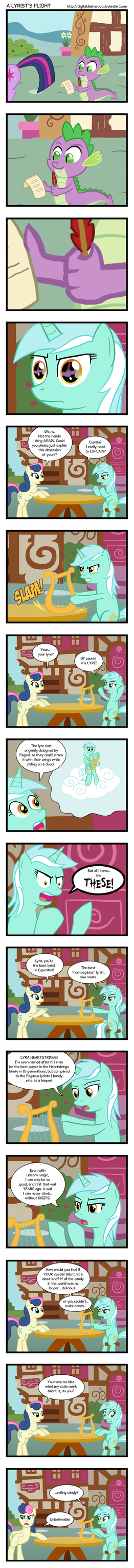 A Lyrist's Plight by DigitalDasherBot