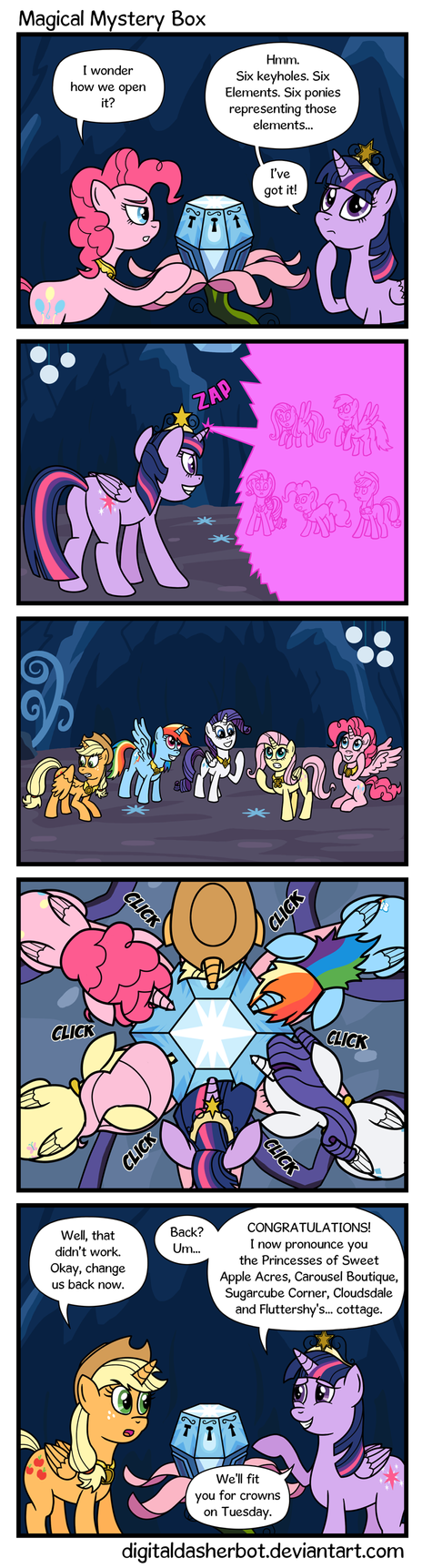 Magical Mystery Box by DigitalDasherBot