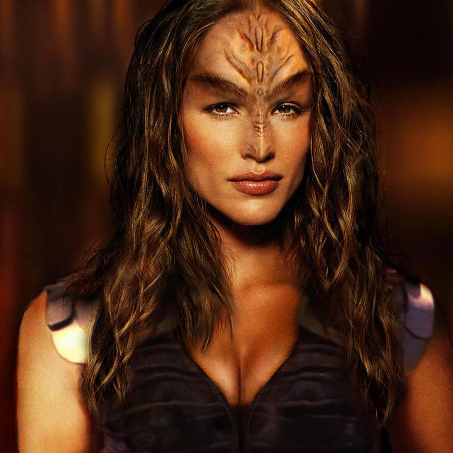 Really? A hot Klingon?