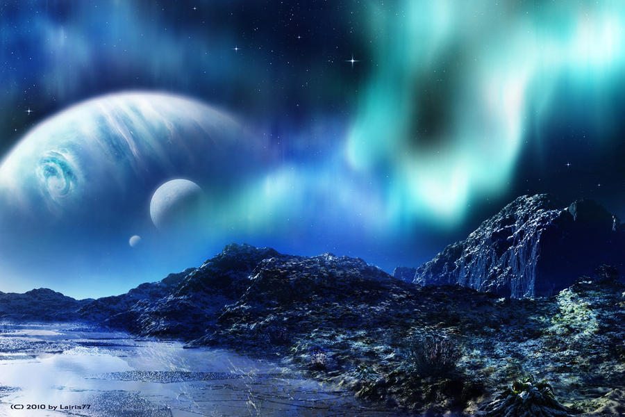 Winter Planet by Lairis77