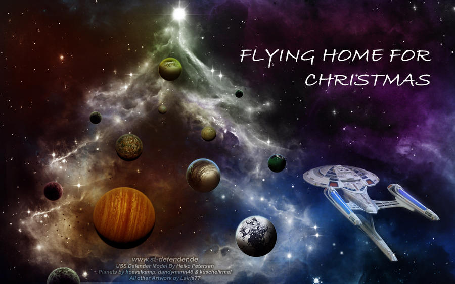 Flying Home for Christmas by Lairis77