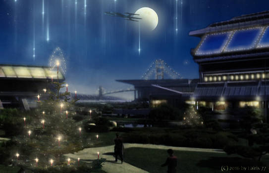 Advent in the Starfleet Headquarters