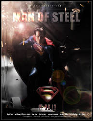 Man of Steel by superadrian