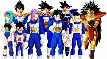 dragon ball familia G y V by cruzazul