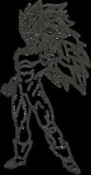Vegeta Super Saiyajin 3