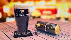 Guinness Can and Pint by dragonballson