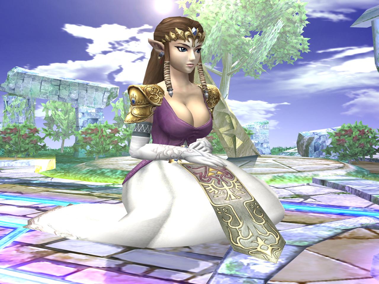 Zelda nude mod porn pic