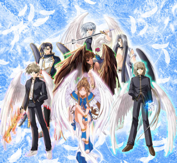 The 7 Archangels By Innisss On DeviantArt
