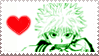 Killua Stamp XD by KhaosAnimeAngel