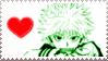 Killua Stamp XD by KhaosAnimeAngel