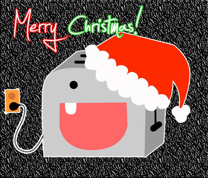 Christmas Toaster? by KhaosAnimeAngel