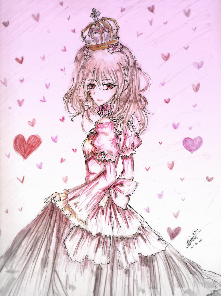 Anime queen of hearts traffic club