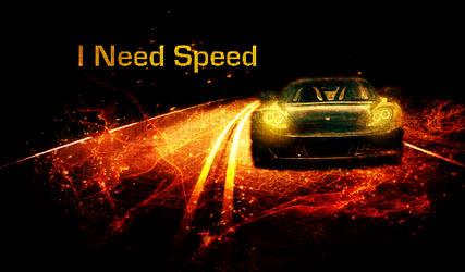 I Need Speed by Adrelinen