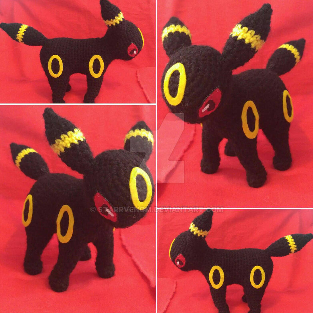 Aringurumicom Shiny Umbreon Amigurumi - Crochet Plush Pokemon ... | 1024x1024