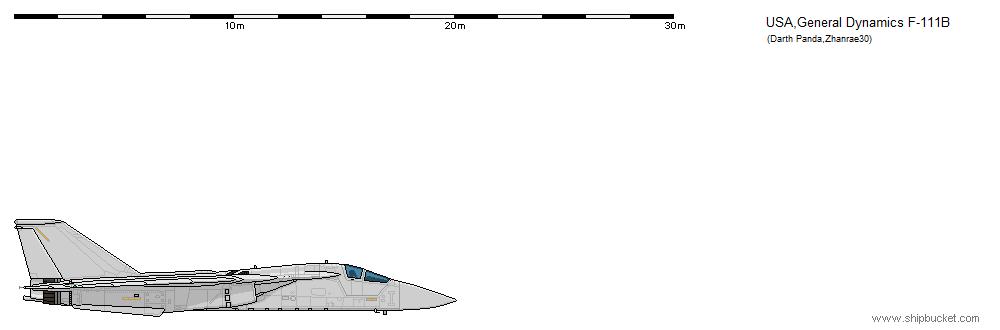 FD Scale F-111B