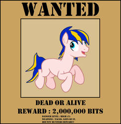 Equestria's Most Wanted by Zhanrae30