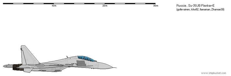 FD Scale Su-35UB