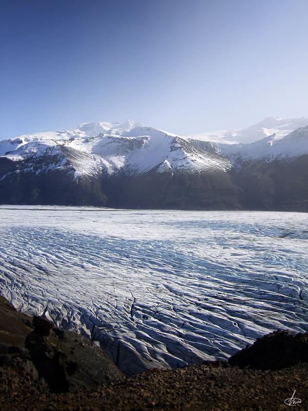 Skaftafellsjokull by Ice-Globe