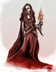 Ice and Fire - Lady Melisandre