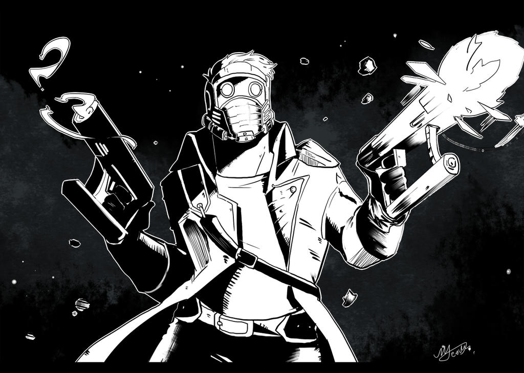 Star Lord by MJeevas508
