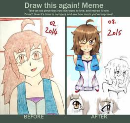 Draw this again! Meme ~