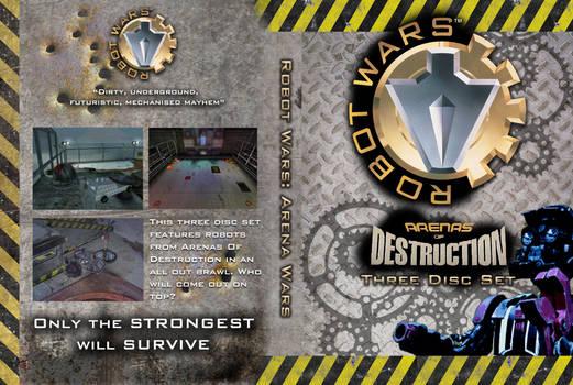 Robot Wars: AOD 3-DVD set cover