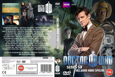 Doctor Who Series 6 DVD Cover (Custom B)