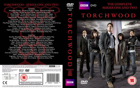 Torchwood: Series 1+2 (Fan cover)