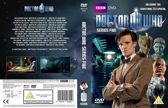 Doctor Who Series 5 DVD Cover (Custom)