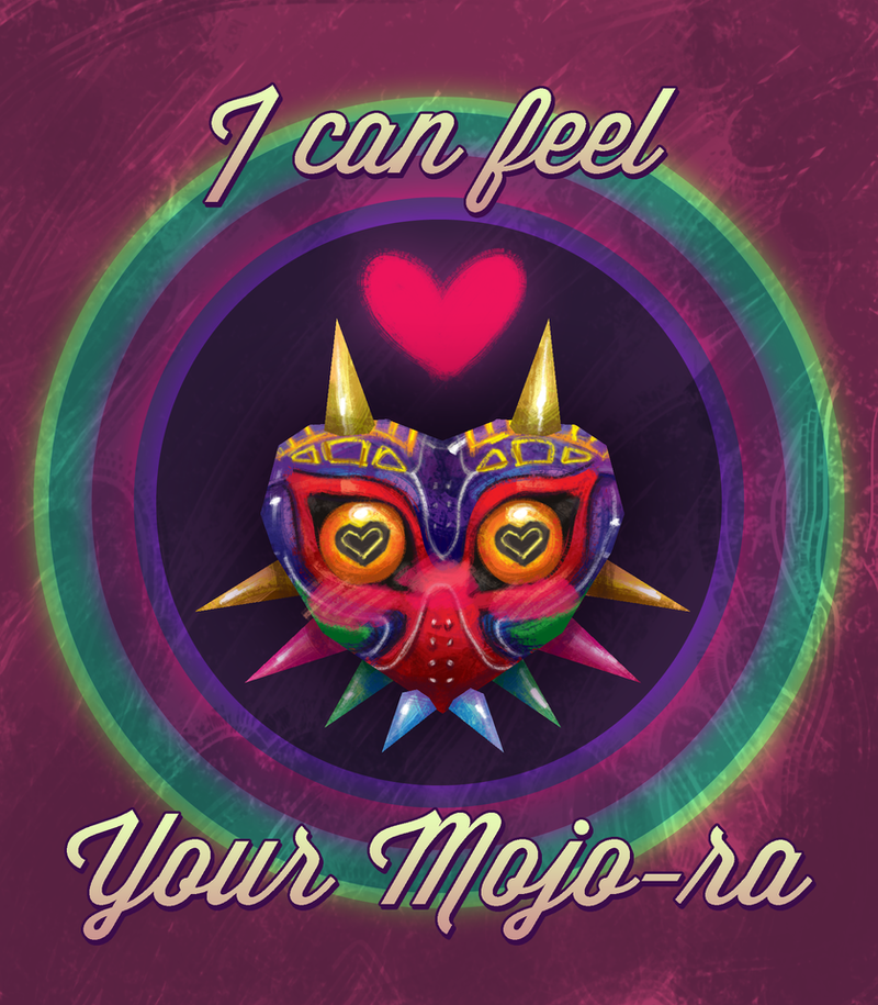 Majora's Mask Valentine Card by altonova