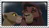 Kovu and Kiara stamp by PrinceKovu96